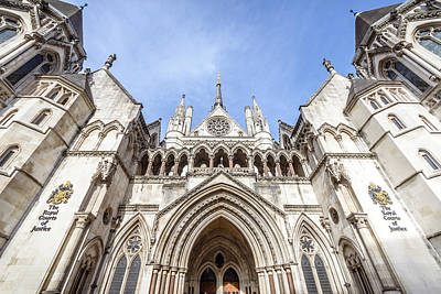 Photograph - Royal Courts Of Justice, London by Alexandre Rotenberg