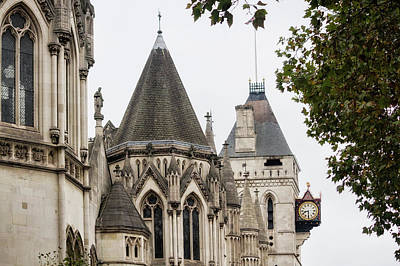 Photograph - Royal Courts Of Justice by Shirley Mitchell