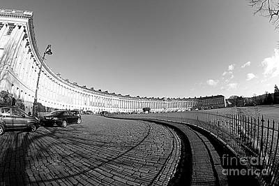 Photograph - Royal Crescent by Andy Thompson