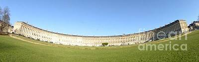 Photograph - Royal Crescent, Bath by Andy Thompson
