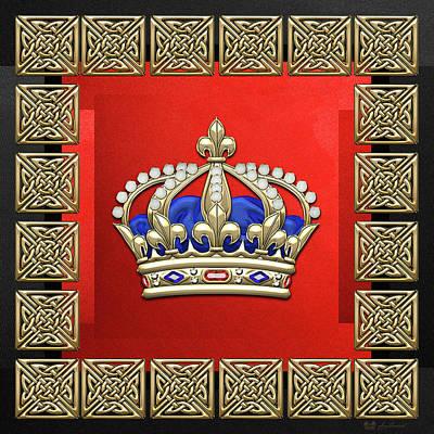 Digital Art - Royal Crown Of France  by Serge Averbukh