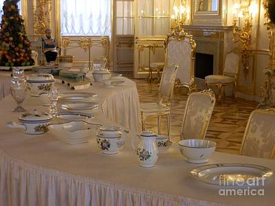 Russia Photograph - Royal Dining Service by Margaret Brooks