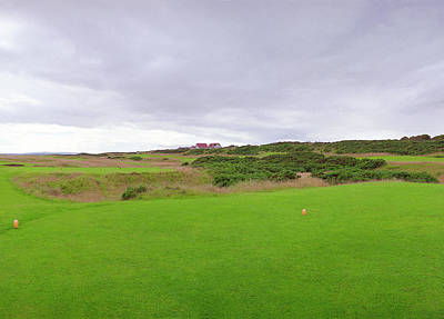 Photograph - Royal Dornoch 6th Tee by Jan W Faul