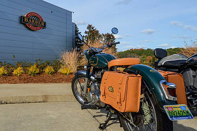 Photograph - Royal Enfield At Barber Motorsport Museum by Michael Thomas