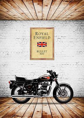 500 Photograph - Royal Enfield Bullet 500 by Mark Rogan