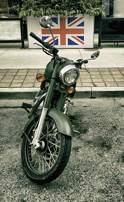 Photograph - Royal Enfield, Made Like A Gun. by James Canning