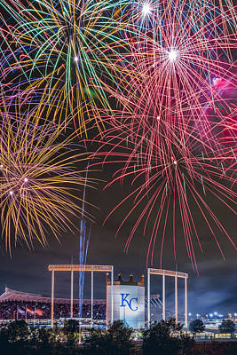 Photograph - Royal Fireworks by Ryan Heffron