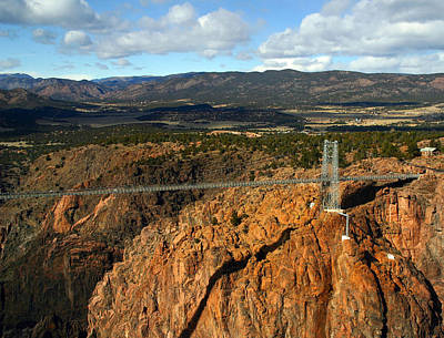 Photograph - Royal Gorge by Anthony Jones