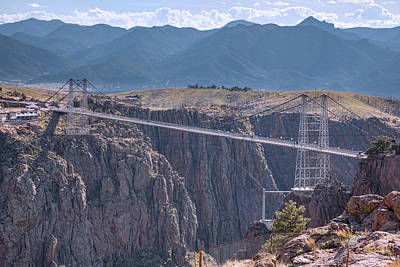 Photograph - Royal Gorge Bridge Colorado by James BO Insogna