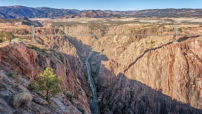 Photograph - Royal Gorge Bridge by Susan Rissi Tregoning