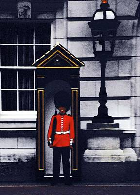 Digital Art - Royal Guard by Ronald Irwin