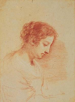 Guercino Painting - Royal Guercino Woman by MotionAge Designs