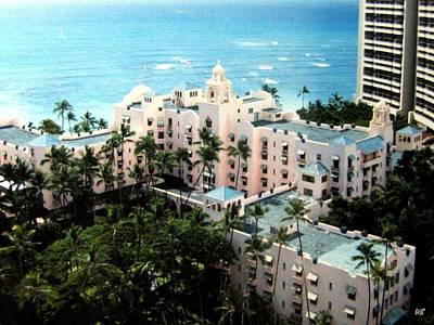 Photograph - Royal Hawaiian Hotel  by Will Borden