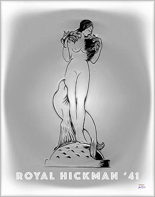 Digital Art - Royal Hickman 41 2 by Joe Paradis
