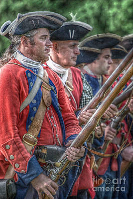 Royal Highlanders At Bushy Run August 1763 Art Print