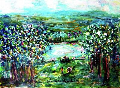 Painting - Royal Hills Golf Course by Wanvisa Klawklean