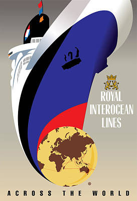 Digital Art - Royal Interocean by Gary Grayson