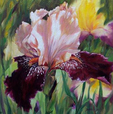 Painting - Royal Iris by Donna Munsch