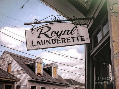 Photograph - Royal Launderette- Nola by Kathleen K Parker