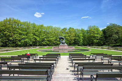 Photograph - Royal Lazienki Park And Chopin Statue In Warsaw by Artur Bogacki