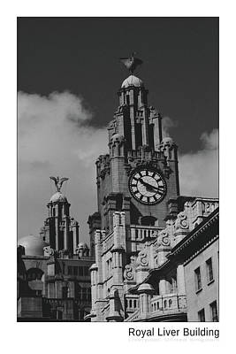 Photograph - Royal Liver Building - Titled by AGeekonaBike Fine