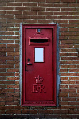 Mail Box Photograph - Royal Mail by Joana Kruse