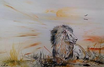 Royal Meekness Art Print by Eyal Malek