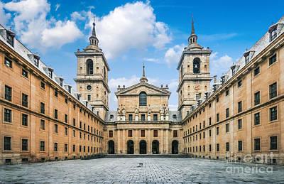 Photograph - Royal Monastery El Escorial by JR Photography