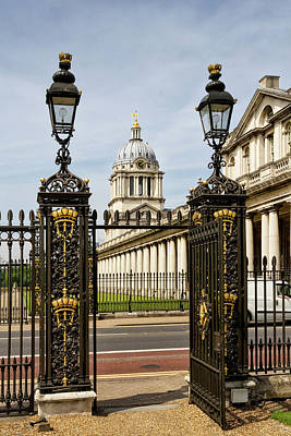 Photograph - Royal Naval College Greenwich by Shirley Mitchell