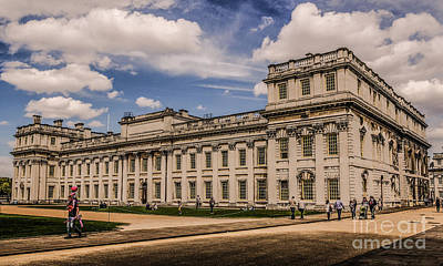 Photograph - Royal Navy College - Greenwich University by Lexa Harpell