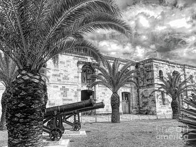 Photograph - Royal Navy Dockyard Fort - Bermuda by Luther Fine Art