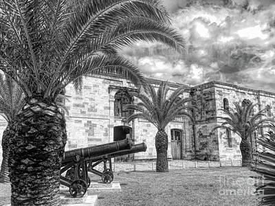 Photograph - Royal Navy Dockyard Fort - Bermuda by Luther Fine Art