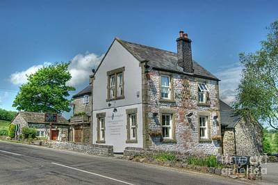 Photograph - Royal Oak Pub At Hurdlow by David Birchall