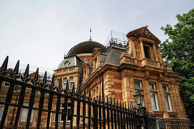 Photograph - Royal Observatory Greenwich by Shirley Mitchell