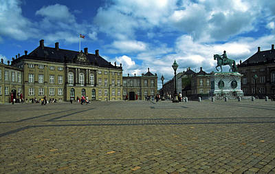 Photograph - Royal Palace Copenhagen by Sally Weigand