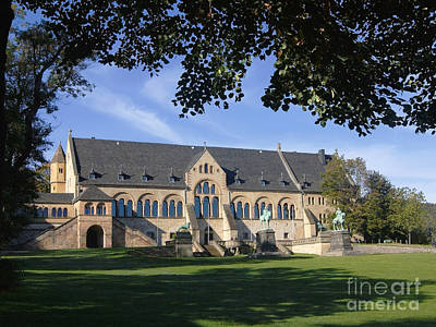 Photograph - Royal Palace Goslar by Rudi Prott