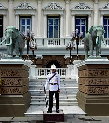 Photograph - Royal Palace Guard by Richard Bryce and Family