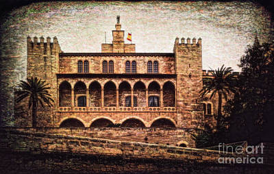 Photograph - Royal Palace In Majorca by Sue Melvin
