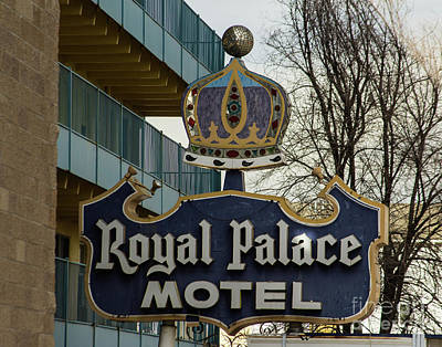 Photograph - Royal Palace Motel by Steven Parker