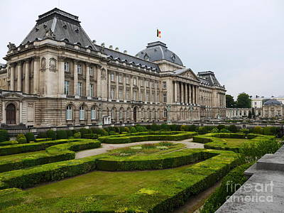 Photograph - Royal Palace Of Brussels by Lexa Harpell