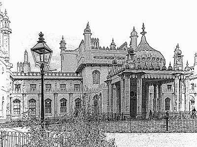 Photograph - Royal Pavilion Entrance Brighton by Dorothy Berry-Lound