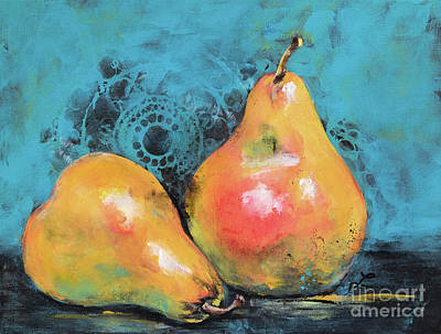 Painting - Royal Pears by Lynne Furrer
