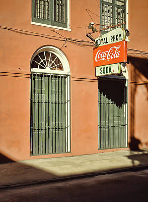 Photograph - Royal Pharmacy And Soda - New Orleans by Greg Jackson