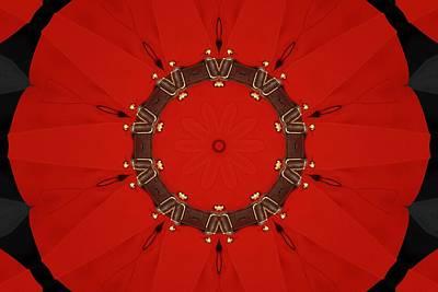 Digital Art - Royal Red by Max DeBeeson