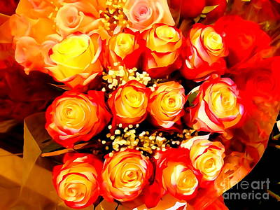 Photograph - Royal Roses by Ed Weidman