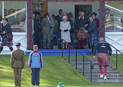 Photograph - Royal Smiles At Braemar by Phil Banks