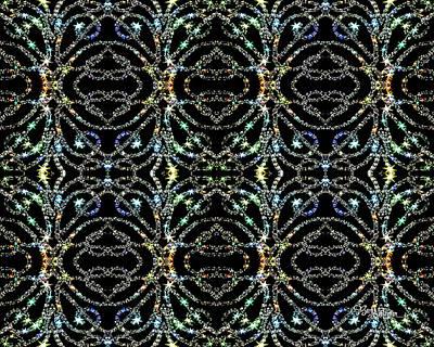 Digital Art - Royal Sparkles #053 by Barbara Tristan