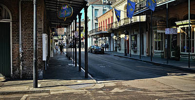 Photograph - Royal Street - French Quarter - New Orleans by Greg Jackson