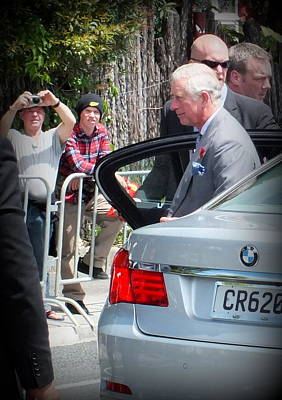 Photograph - Royal Tour Of New Zealand by Guy Pettingell