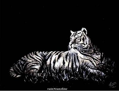 Painting - Royal by Trinath Sen